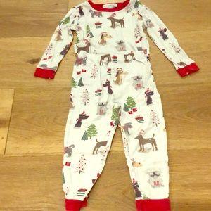 Dog Christmas Pajamas by Pottery Barn Kids!